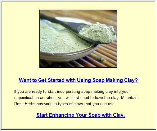 claypromo Soap Making and Clays